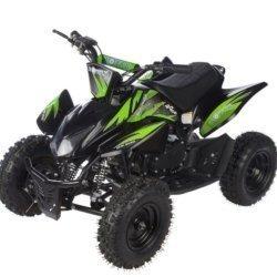 Детский квадроцикл бензиновый MOTAX ATV Х-15 50 сс в стиле Honda TRX (задний привод, зарядка аккумулятора, 45 км/ч)