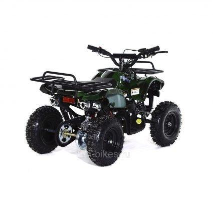 Квадроцикл детский бензиновый MOTAX ATV Х-16 Мини-Гризли Зеленый- камуфляж (механический стартер, задний привод, до 45 км/ч)