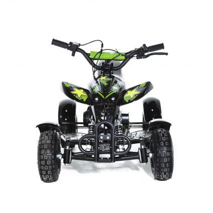 Детский квадроцикл бензиновый MOTAX ATV H4 mini-50 cc Черно- зеленый (до 45 км/ч)