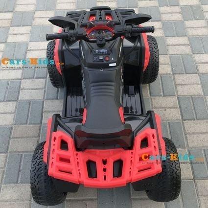 Электроквадроцикл Maverick ATV 2WD красный (колеса резина, кресло кожа, музыка)