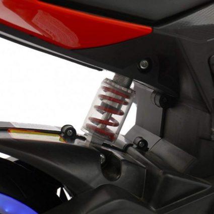 Детский электромотоцикл Ducati 12V- FT-1628 красный (колеса резина, сиденье кожа, музыка, страховочные колеса, ручка газа)