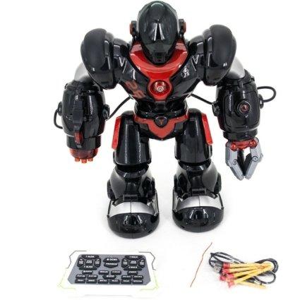 Радиоуправляемый робот, стреляет присосками