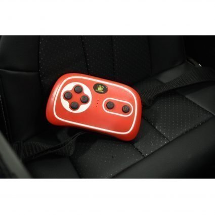 Электромобиль BMW 6 GT JJ2164 белый (колеса резина, кресло кожа, пульт, музыка)