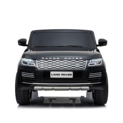 Электромобиль Range Rover HSE 4WD черный (2х местный, полный привод, колеса резина, кресло кожа, пульт, музыка)
