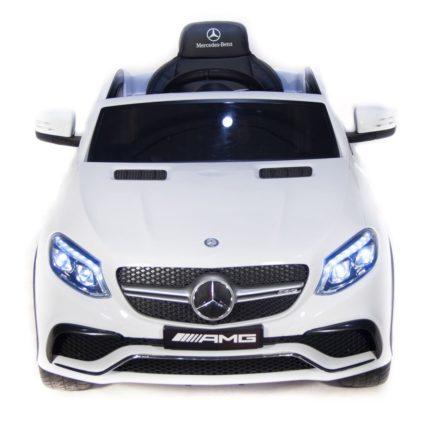 Mercedes-Benz AMG GLE63 Coupe белый(колеса резина, кресло кожа, пульт, музыка)