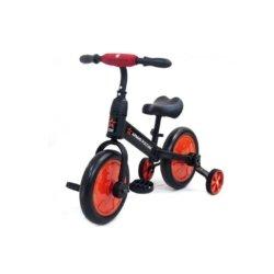 Детский беговел/велосипед ''Тактический'' ( Красный) - АР-03001 (для детей от 1 до 4 лет, резиновые колеса)