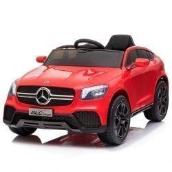 Детский электромобиль Mercedes-Benz Concept GLC Coupe BBH-0008 красный (колеса резина, кресло кожа, пульт, музыка)